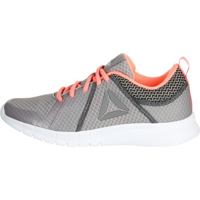 Chaussures marche sportive femme Soft Walk gris / corail - 1182534