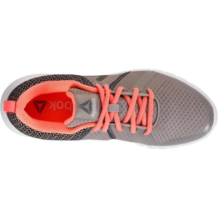 Chaussures marche sportive femme Soft Walk gris / corail - 1182535