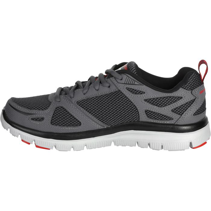 Chaussures marche sportive homme flex first team gris - 1182556