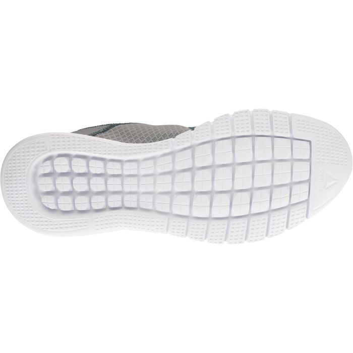 Chaussures marche sportive femme Soft Walk gris / corail - 1182615