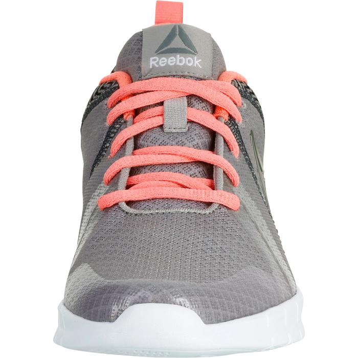 Chaussures marche sportive femme Soft Walk gris / corail - 1182630