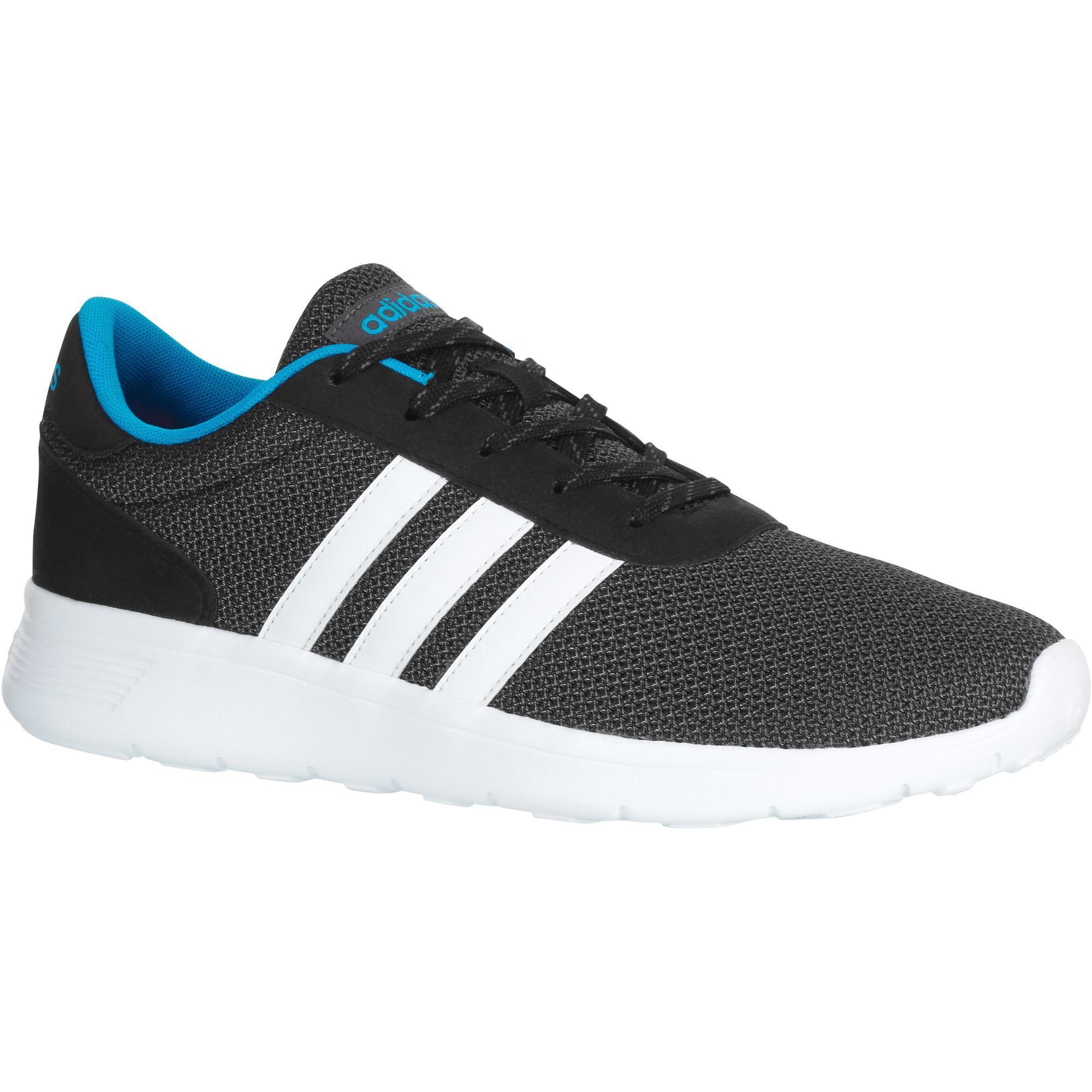 Adidas Sportieve wandelsneakers voor heren Lite Racer grijs-blauw