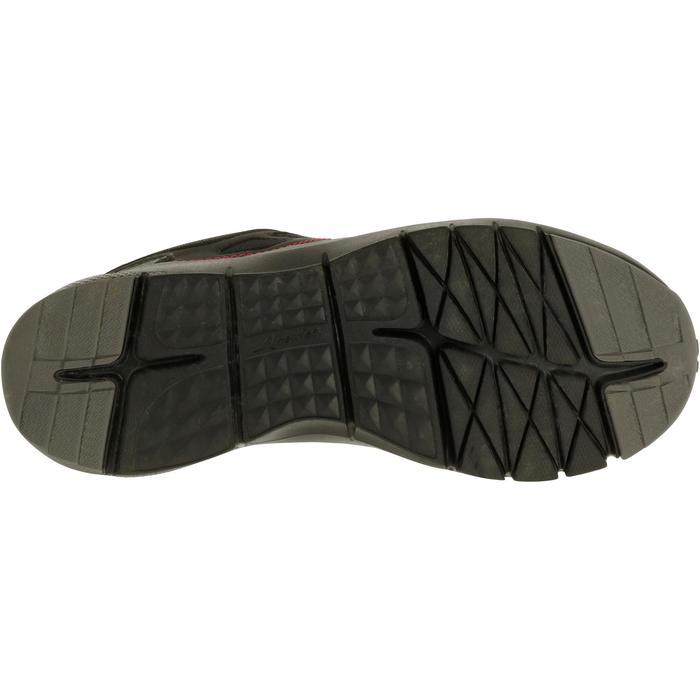 Damessneakers voor sportief wandelen HW 100 zwart / roze