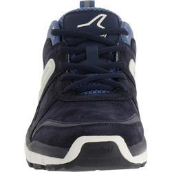 Walkingschuhe HW 540 Leder Damen blau