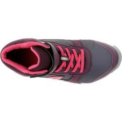 Sportschuhe Klettverschluss Protect 580 wasserdicht Kinder bordeaux/pink