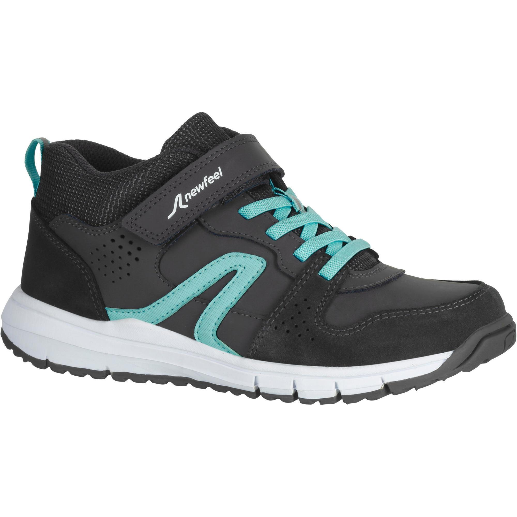 chaussures marche sportive enfant protect 560 gris turquoise newfeel. Black Bedroom Furniture Sets. Home Design Ideas