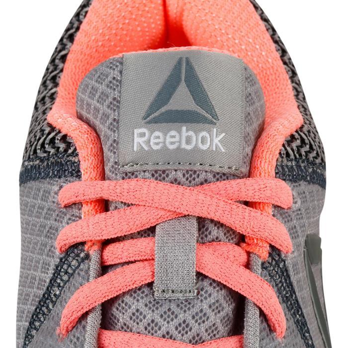Chaussures marche sportive femme Soft Walk gris / corail - 1182757