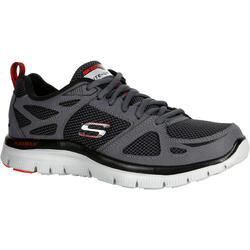 Chaussures marche sportive homme flex first team gris