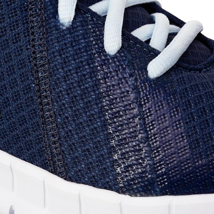 Chaussures marche sportive femme Soft Walk bleu - 1182759