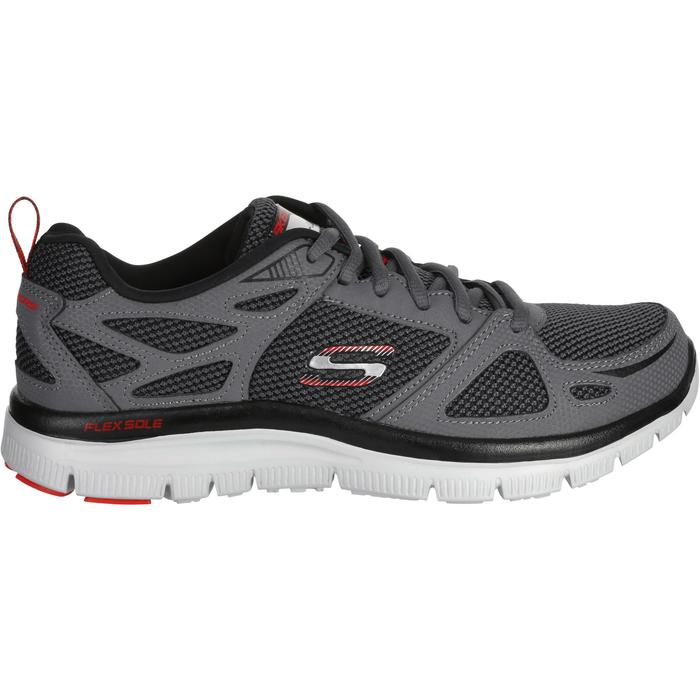Chaussures marche sportive homme flex first team gris - 1182784