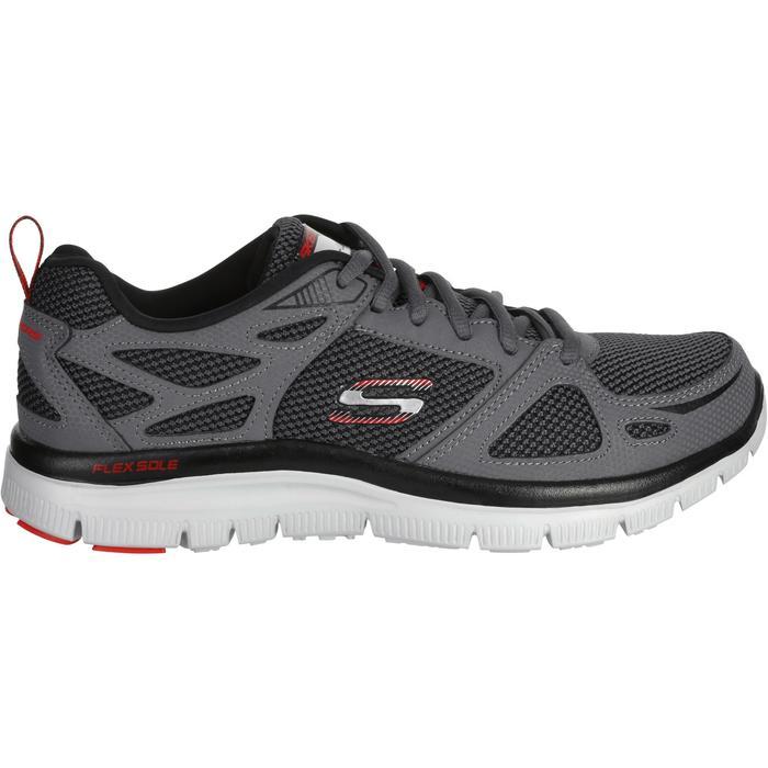 Chaussures marche sportive homme flex first team gris