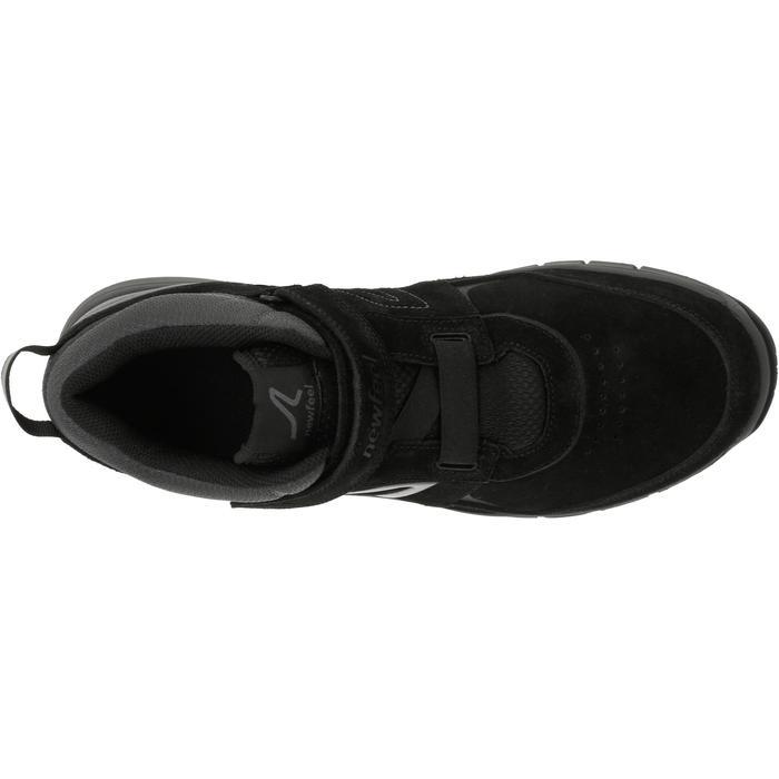 Chaussures marche sportive homme HW 140 Strap cuir noir