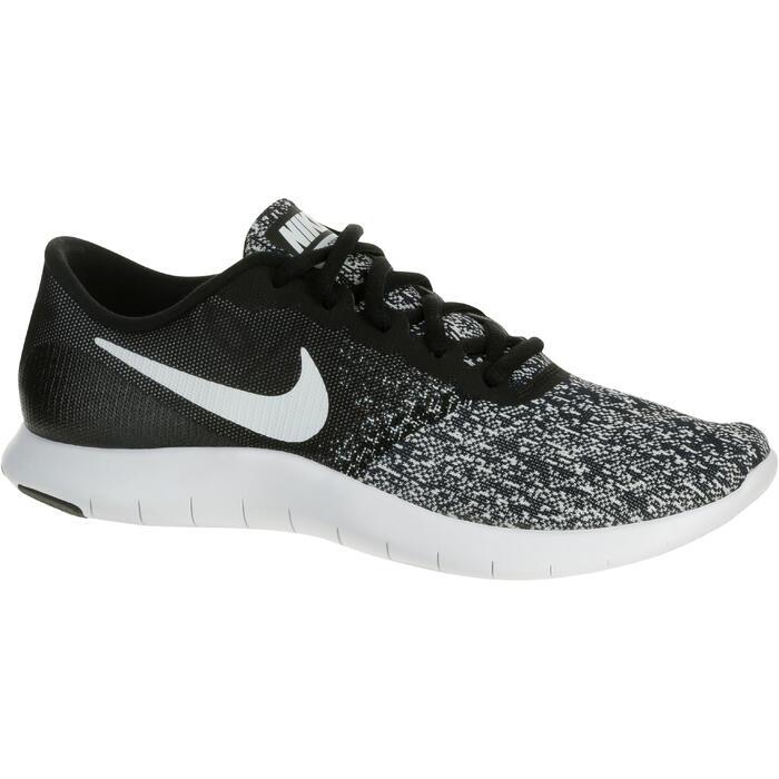 Chaussures marche sportive femme Flex Contact noir / blanc - 1182814