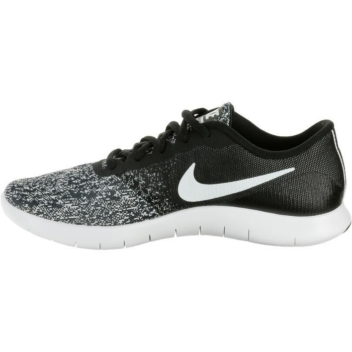 Chaussures marche sportive femme Flex Contact noir / blanc - 1182820