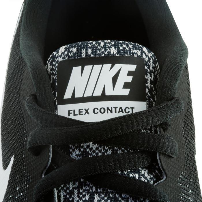 Chaussures marche sportive femme Flex Contact noir / blanc - 1182836