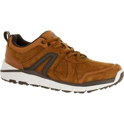 HW 540 Leather Men's Fitness Walking Shoes - Leather Tan