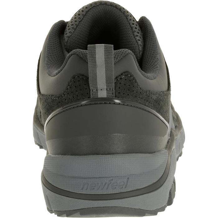 男款皮革健走鞋HW 540-灰色