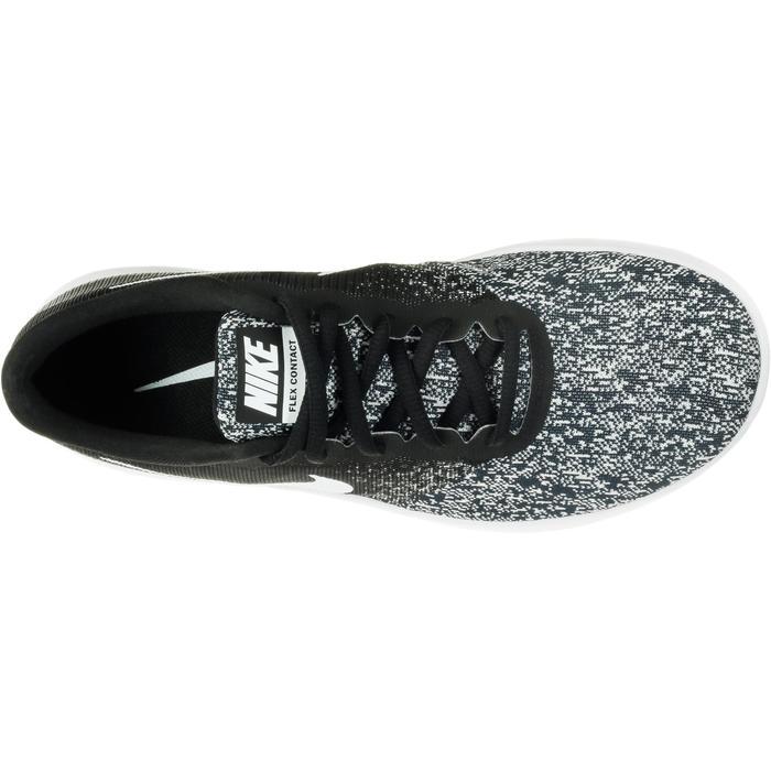 Chaussures marche sportive femme Flex Contact noir / blanc - 1182857