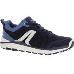 Zapatillas de marcha deportiva para mujer HW 540 piel jean