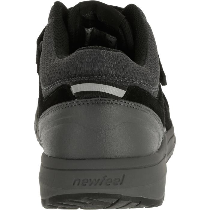 Chaussures marche sportive homme HW 140 Strap cuir noir - 1182886