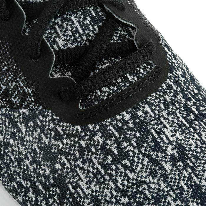 Damessneakers Flex Contact zwart/wit