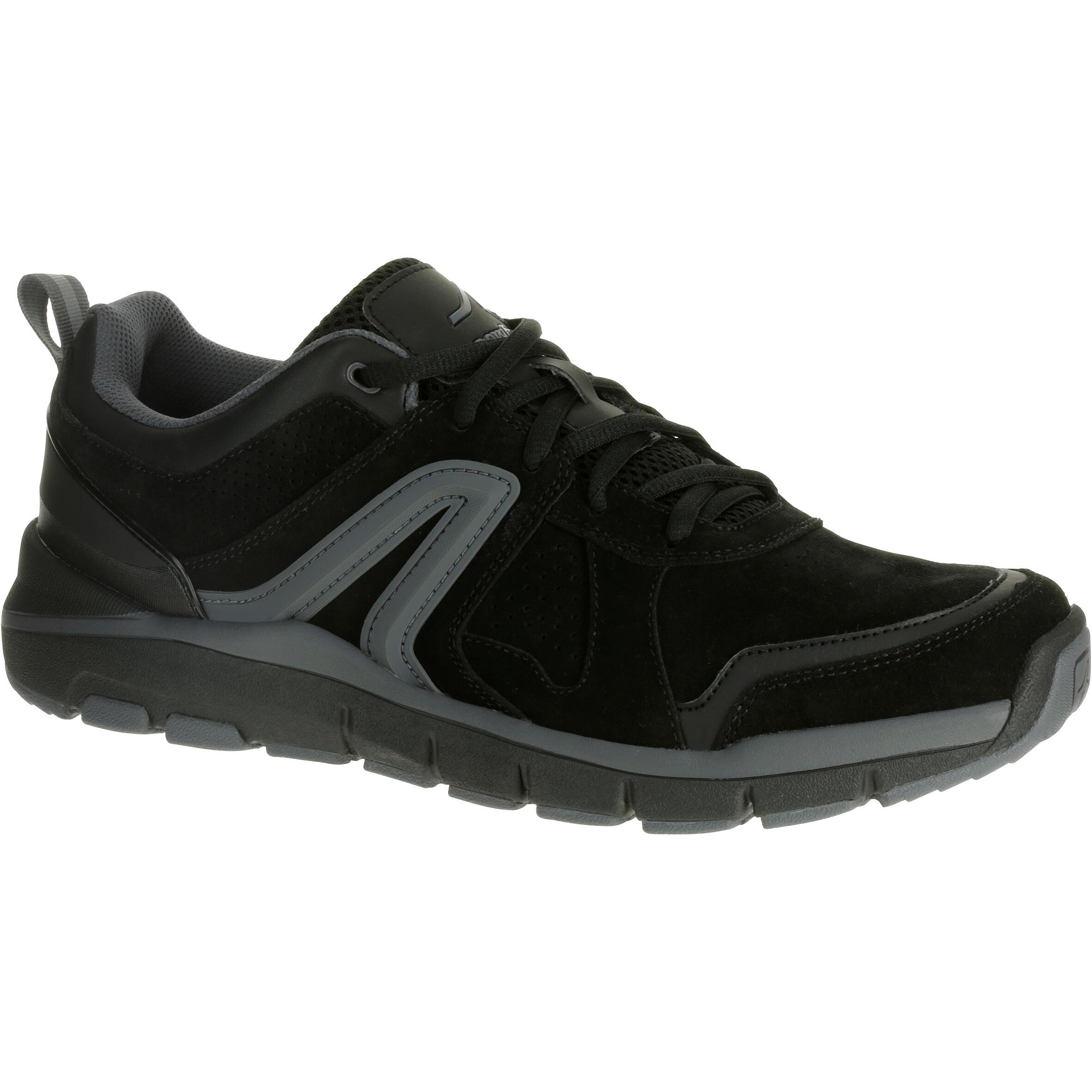 Newfeel Leren herensneakers voor sportief wandelen HW 540