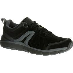 Zapatillas Caminar Newfeel HW 540 Piel Hombre Negro