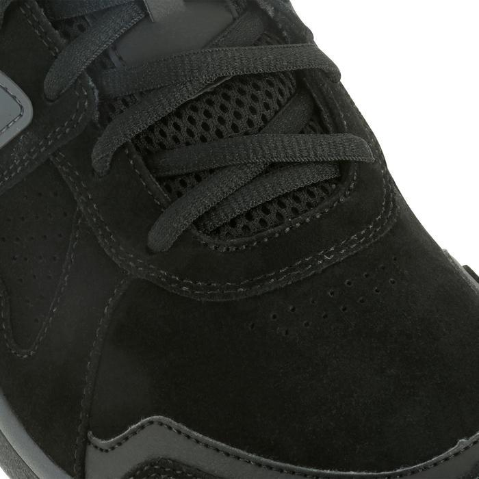 Chaussures marche sportive homme HW 540 cuir noir