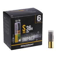 S900 12 GAUGE IMPACT ARX CARTRIDGE 36g No.6 X25