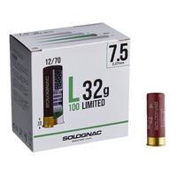 CARTRIDGE LIMITED L100 32g GAUGE 12/70 SHOT SIZE 7.5 x250