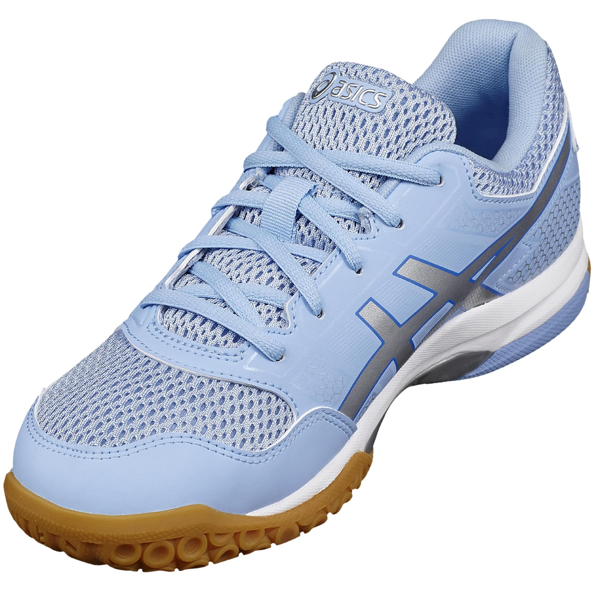 Badminton Gel Femme Bleu Blanc Rocket De Chaussures Squash 7 cFKJTu13l5