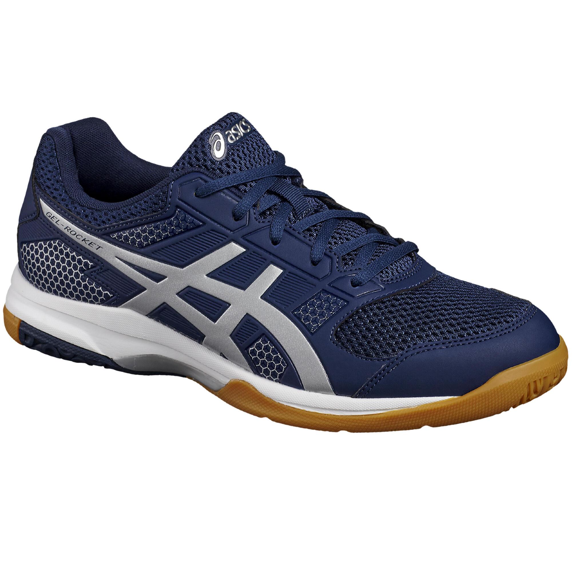 Asics Badminton-/squashschoenen voor heren Gel Rocket 8 blauw