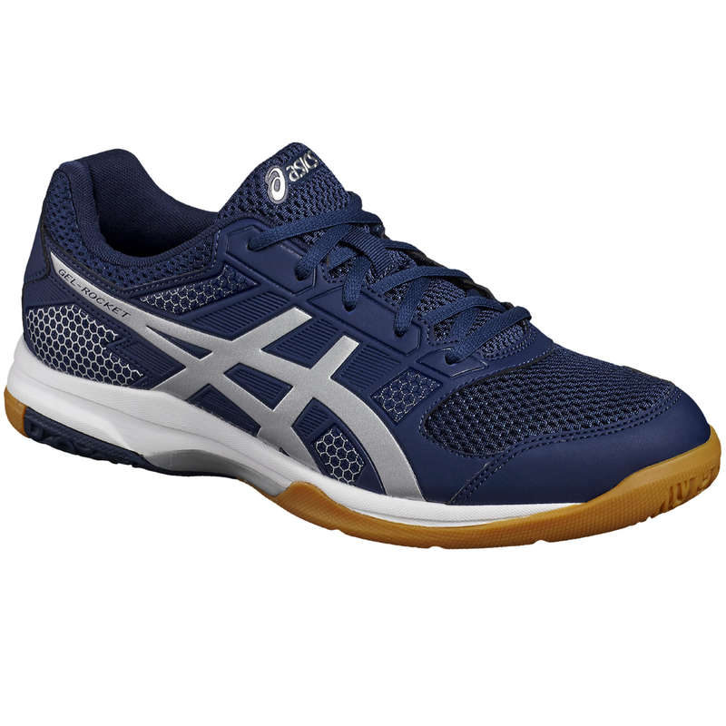 MEN'S INTERMEDIATE BADMINTON SHOES - Gel Rocket 8 - Blue ASICS