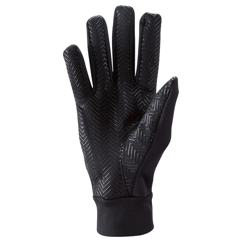 Adult Football Gloves Keepdry 500 - Black