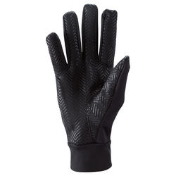 Keepdry 500 Adults' Warm Soccer Gloves - Black