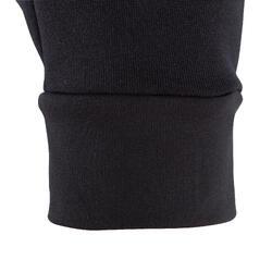 Keepdry 500 Adults' Warm Soccer Gloves - Black