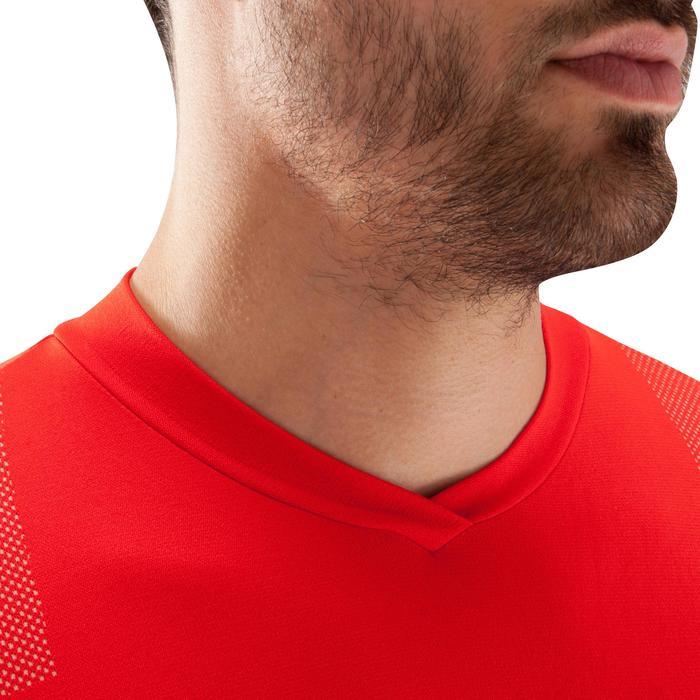 Funktionsshirt lang Keepdry 500 atmungsaktiv Erwachsene rot