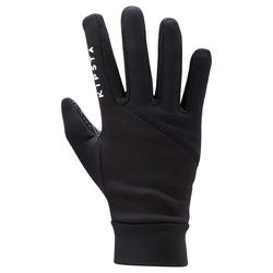 Keepdry 500 Kids' Soccer Gloves - Black