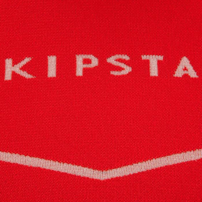 Ondershirt met lange mouwen voetbal voor volwassenen Keepdry 500 rood