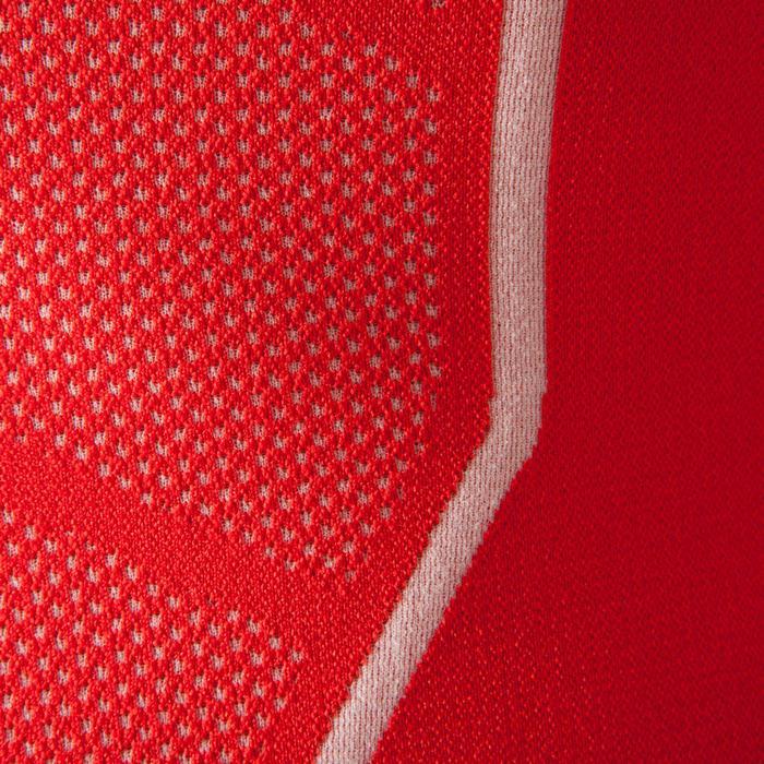 Ademend ondershirt met lange mouwen voor volwassenen Keepdry 500 rood