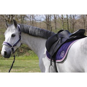 Amortisseur de dos équitation cheval et poney LENA noir - 118309