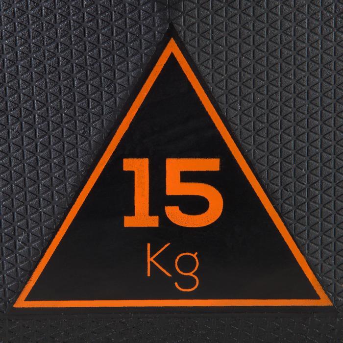 六角啞鈴15 kg