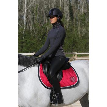 Amortisseur de dos équitation cheval et poney LENA noir - 118311