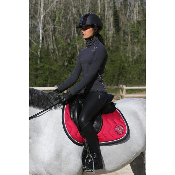 Amortisseur de dos équitation cheval et poney LENA noir