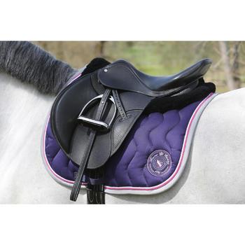 Amortisseur de dos équitation cheval et poney LENA noir - 118315