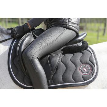 Amortisseur de dos équitation cheval et poney LENA noir - 118316