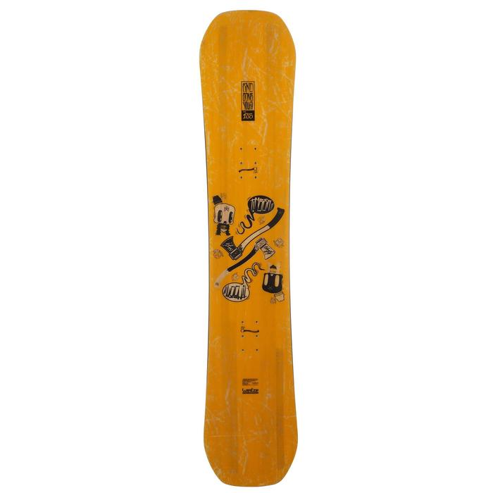 Snowboard junior End Zone 300 Youth jaune - 11833
