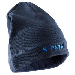 兒童內刷毛毛帽Keepwarm-深藍色