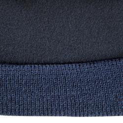 Gorro para niños Keepwarm interior de fibra polar azul oscuro
