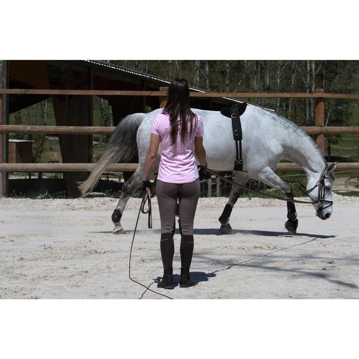 Cilhão de Trabalho Equitação Cavalo e Pónei Preto